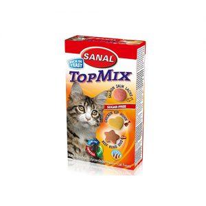 تشویقی گربه مدل تاپ میکس سانال – Sanal TopMix