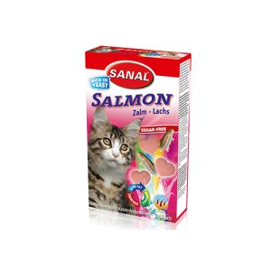 تشویقی گربه با طعم ماهی مدل سالمون سانال