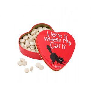 قرص مولتی ویتامین گربه طرح قلبی مدل Sanal